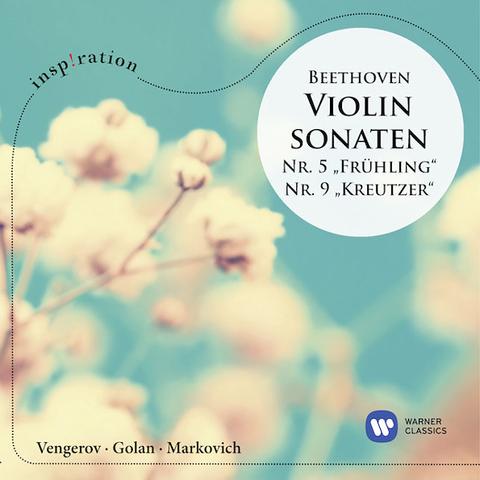 Maxim Vengerov / Beethoven: Violin Sonatas No. 5 Spring, No. 9 Kreutzer (CD)