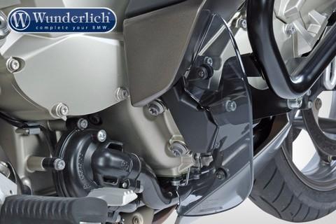 Защита ног Clear Protect BMW K 1600 GT/GTL затемненная