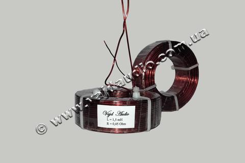 Катушка индуктивности Vajd Audio 1,5 mH*0.45 Ohm* 1,4 mm