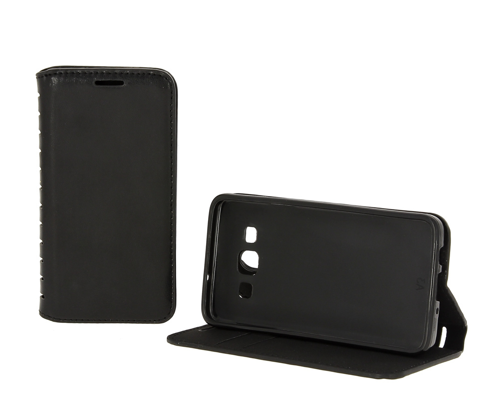 d139764b8bf51 Чехол-книжка Xiaomi Redmi Note 5 / 5 Pro с визитницей (черный ...