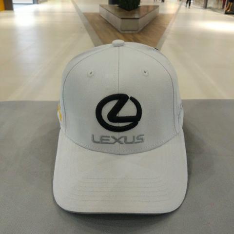 Кепка Лексус белая (Бейсболка Lexus)