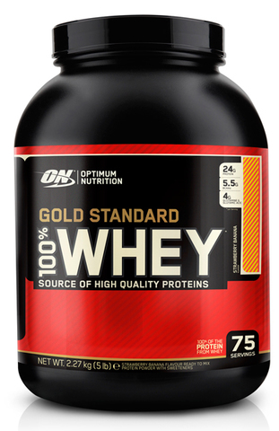 100% Whey  Gold Standard,   5 lbs.