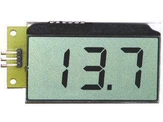 Цифровой встраиваемый вольтметр постоянного тока с LCD-дисплеем EK-SVL0002