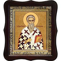 Киприан Антиохийский,  Никомидийский епископ, священномученик. Икона на холсте.