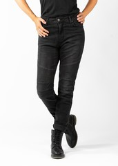 Мотоджинсы John Doe BETTY BIKER JEANS, чёрный
