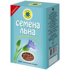 Семена льна с селеном, хромом и кремнием, 200 гр. (Компас здоровья)