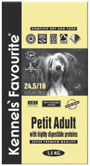 Корм для собак мелких пород Kennels' Favourite Petite Adult