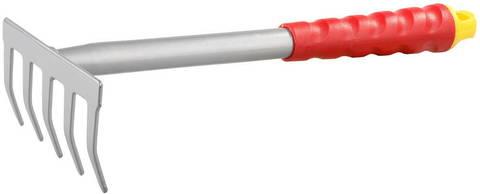 Грабельки GRINDA ручные, из углеродистой стали с коннекторной системой, 300 мм