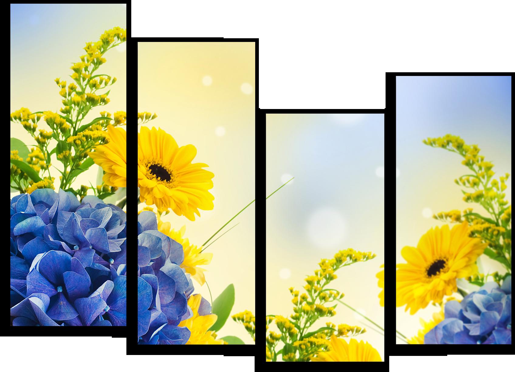 "Цветы Модульная картина ""Запах теплого лета"" М712.png"