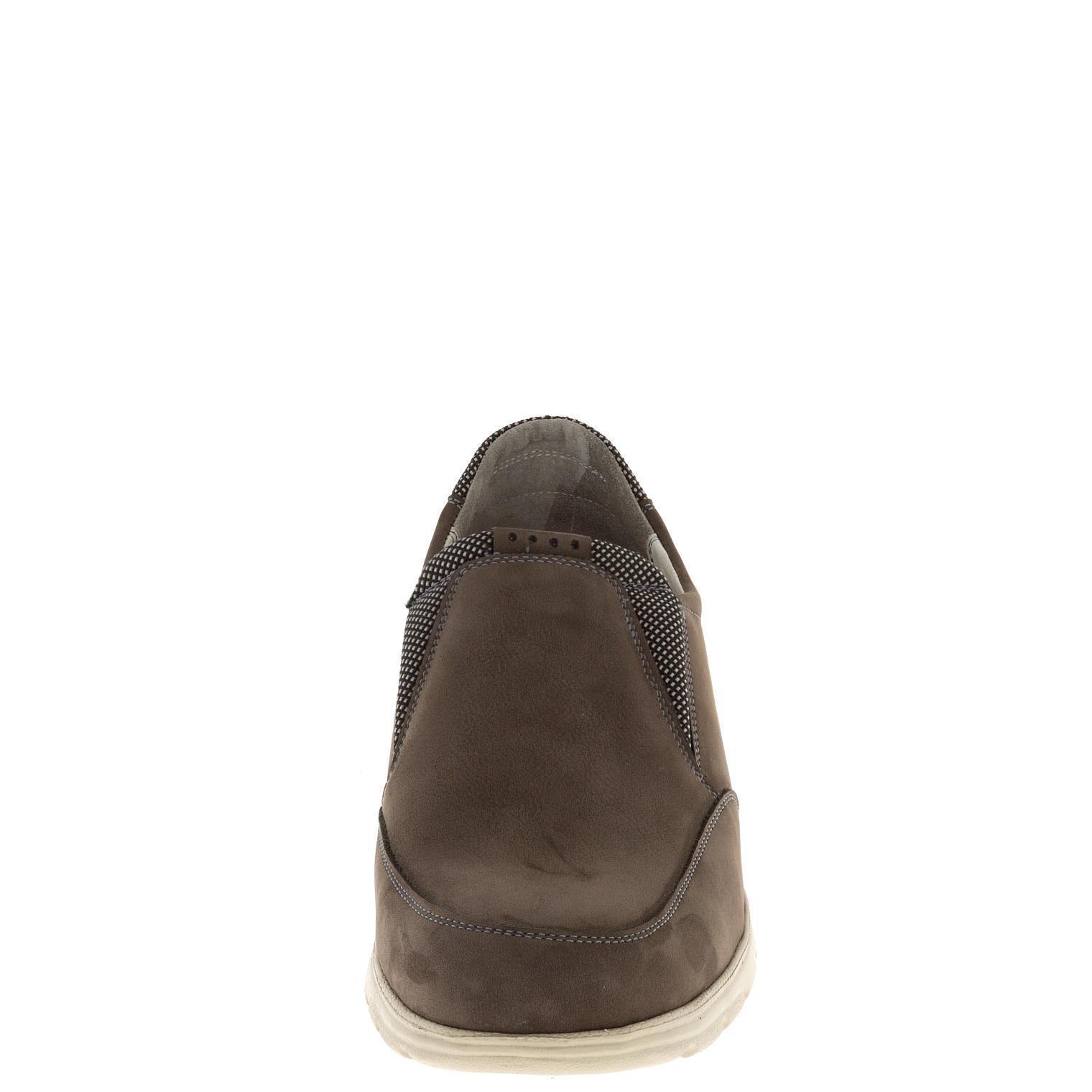 581385 полуботинки мужские коричневые больших размеров марки Делфино
