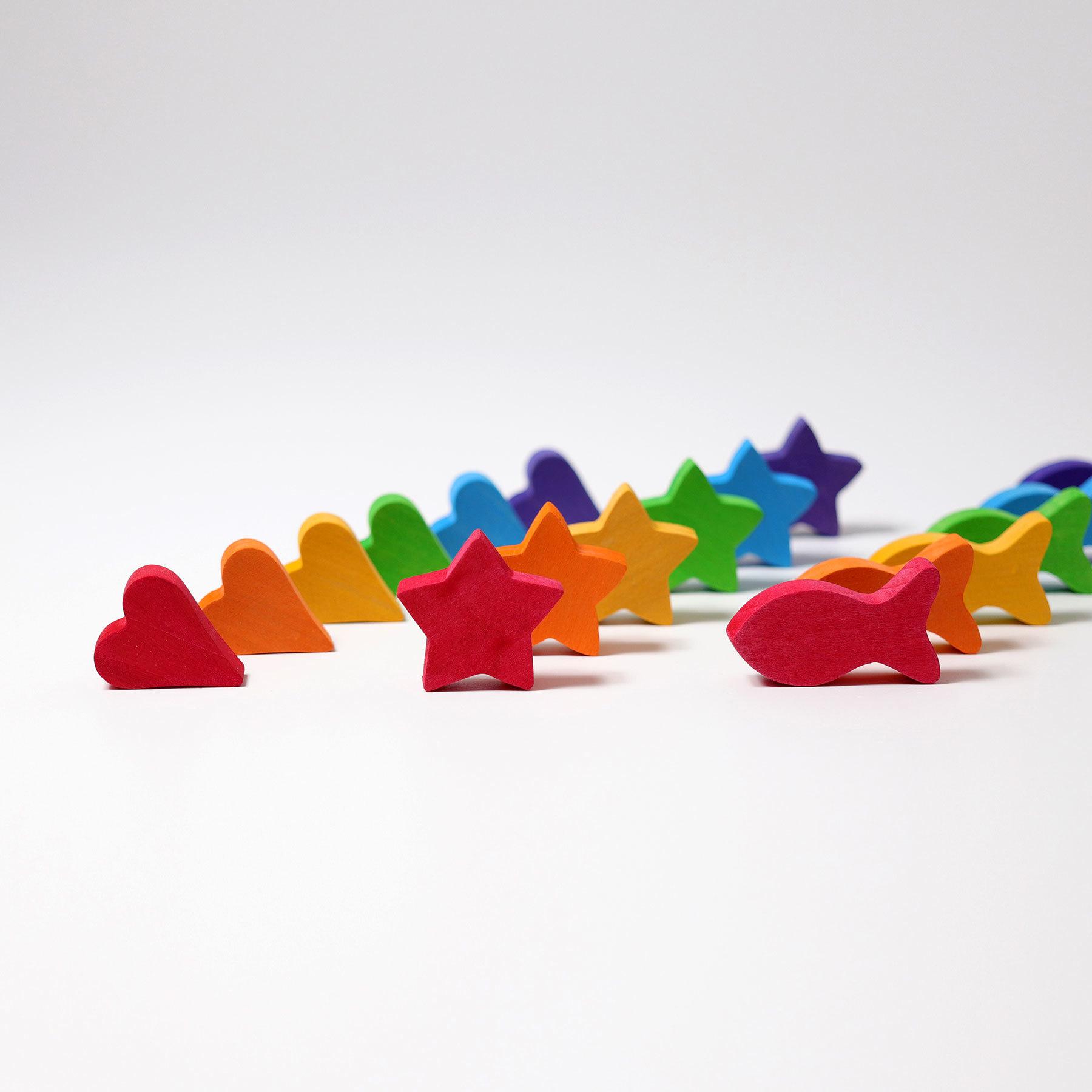 Набор для сортировки радужные чаши (Grimms)
