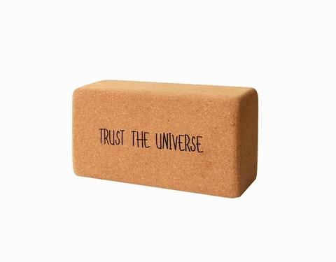 Пробковый блок Trust The Universe