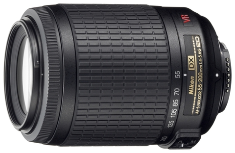 Nikon 55-200mm f/4-5.6G AF-S DX VR IF-ED Zoom-Nikkor (China)