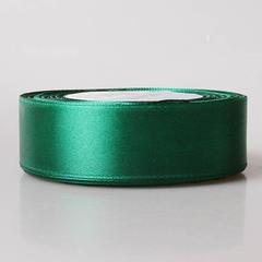 Лента атласная 1д х 23м темно-зеленая 118