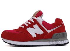 Кроссовки Женские New Balance 574 Red Devil