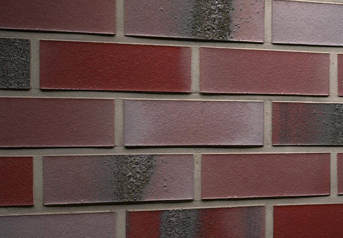 Feldhaus Klinker - R563NF14, Carbona Ardor Rutila, 240x14x71 - Клинкерная плитка для фасада и внутренней отделки