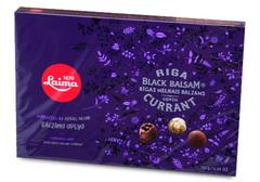 Конфеты в темном шоколаде с Рижский бальзамом из черной смородины, 135 г