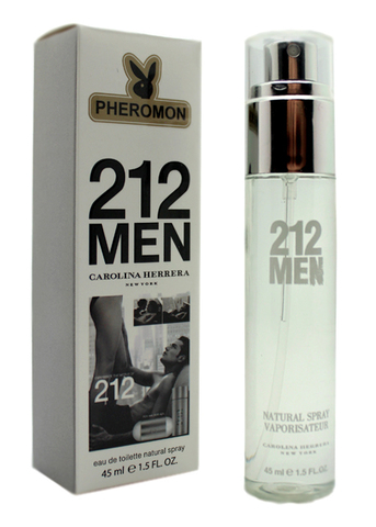Парфюм с феромонами Carolina Herrera 212 Men 45ml (м)