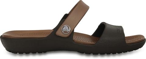 Женские сандалии Crocs Coretta W (Espresso/Bronze) фото крокс 200067