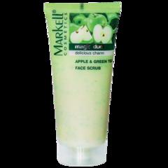 MRK (MAGIC DUET) Скраб для лица яблоко зеленый чай, 95 г.