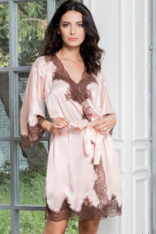 Халат Marilin 3103 Pink Mia-Amore