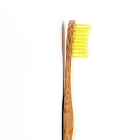 Зубная щетка для взрослых Humble Brush Adult (Желтая, мягкая)