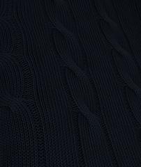 Элитная подушка декоративная Messina темно-синяя от Casual Avenue