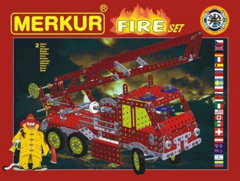 Merkur  M-3314 Металлический конструктор FIRE Set