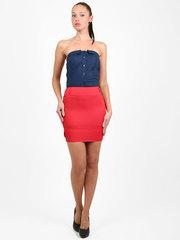 2145-1 юбка красная