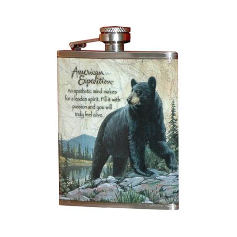 Фляжка Медведь А03-1 210мл