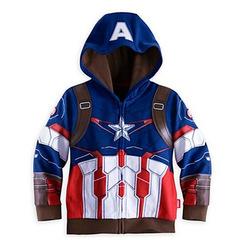 Детская толстовка Капитан Америка