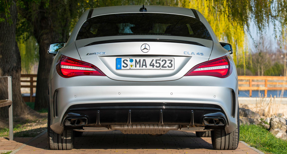Обвес CLA45 AMG для Mercedes CLA C117