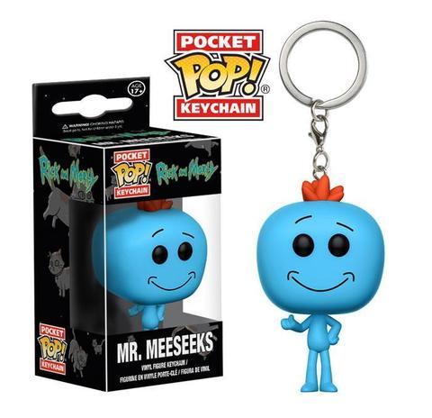 Брелок Мистер Мисикс - Рик и Морти || POP! Keychain Mr. Meeseeks - Rick & Morty