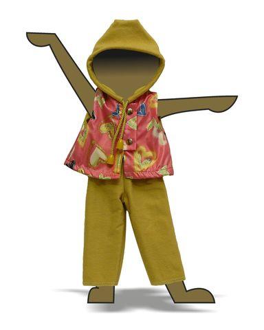 Костюм с жилетом - Демонстрационный образец. Одежда для кукол, пупсов и мягких игрушек.
