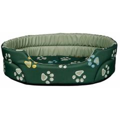Trixie Лежак Jimmy для собак маленьких пород, зеленый 66х55 см