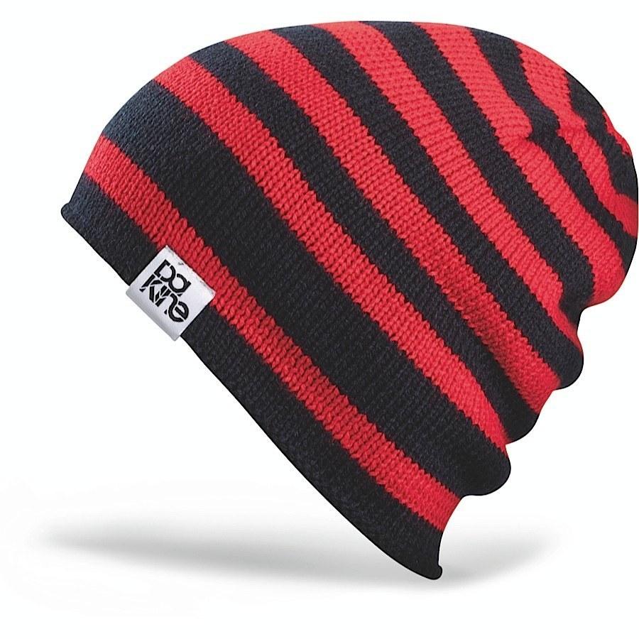 Длинные шапки Шапка-бини вязаная Dakine Flip Flop Red 21.jpg
