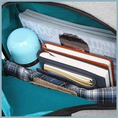 Рюкзак с карманами для ноутбука 15,6 KAKA 2215 чёрный