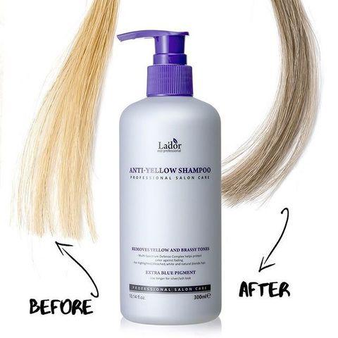 Lador Шампунь оттеночный против желтизны волос Anti Yellow Shampoo 300ml