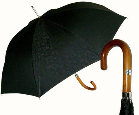 Купить онлайн Зонт-трость Baldinini- 25- Jacquard nero в магазине Зонтофф.