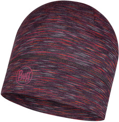 Тонкая шерстяная шапка Buff Hat Wool Iightweight Shale Grey Multi Stripes