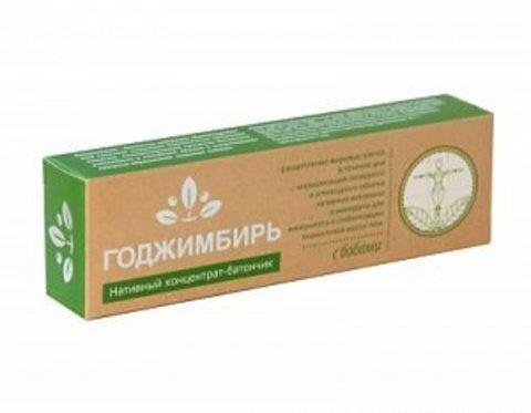 Нативный концентрат-батончик ГоджИмбирь с бобами, Сашера-Мед, 45 г