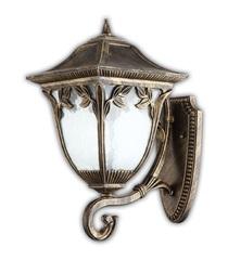 Светильник садово-парковый, 100W 220V E27 черное золото , IP44 , PL4081 (Feron)