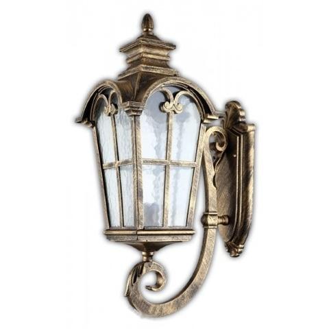 Светильник садово-парковый, 100W 220V E27 черное золото , IP44 , PL5102 (Feron)