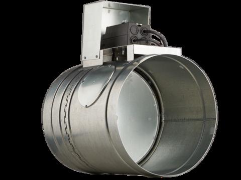Клапан противопожарный BMFDC(120)-R(230)-ф250 круглое сечение