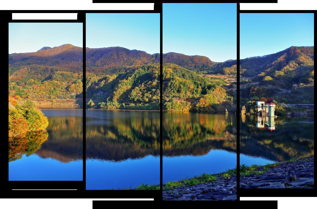 """Природа Модульная картина """"Альпийские озера"""" М933.png"""