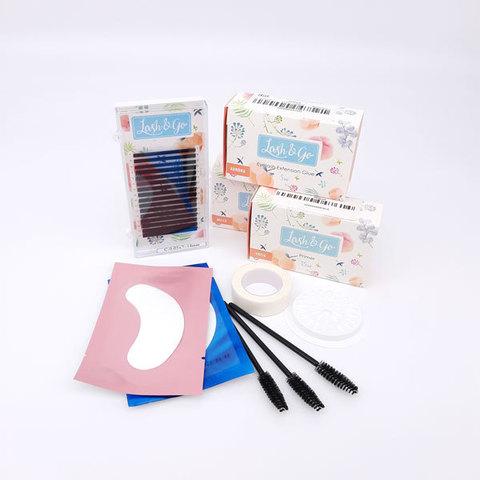 Стартовый набор для наращивания ресниц Lash&Go Light