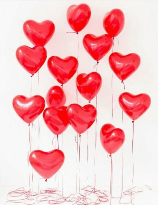 открытка с воздушными шарами в виде сердца нас израиле