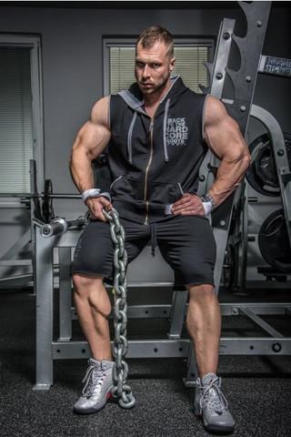 Мужская безрукавка Nebbia HardCore Regtop 316 black