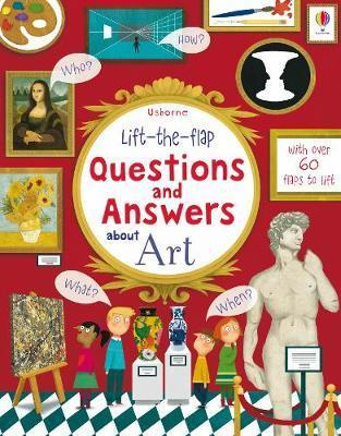 Kitab Lift the Flap Questions & Answers About Art | Katie Daynes