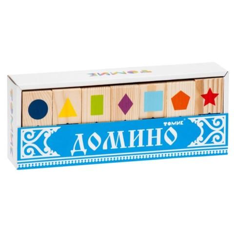 Домино детское Геометрические фигуры, Томик, арт. 5655-1